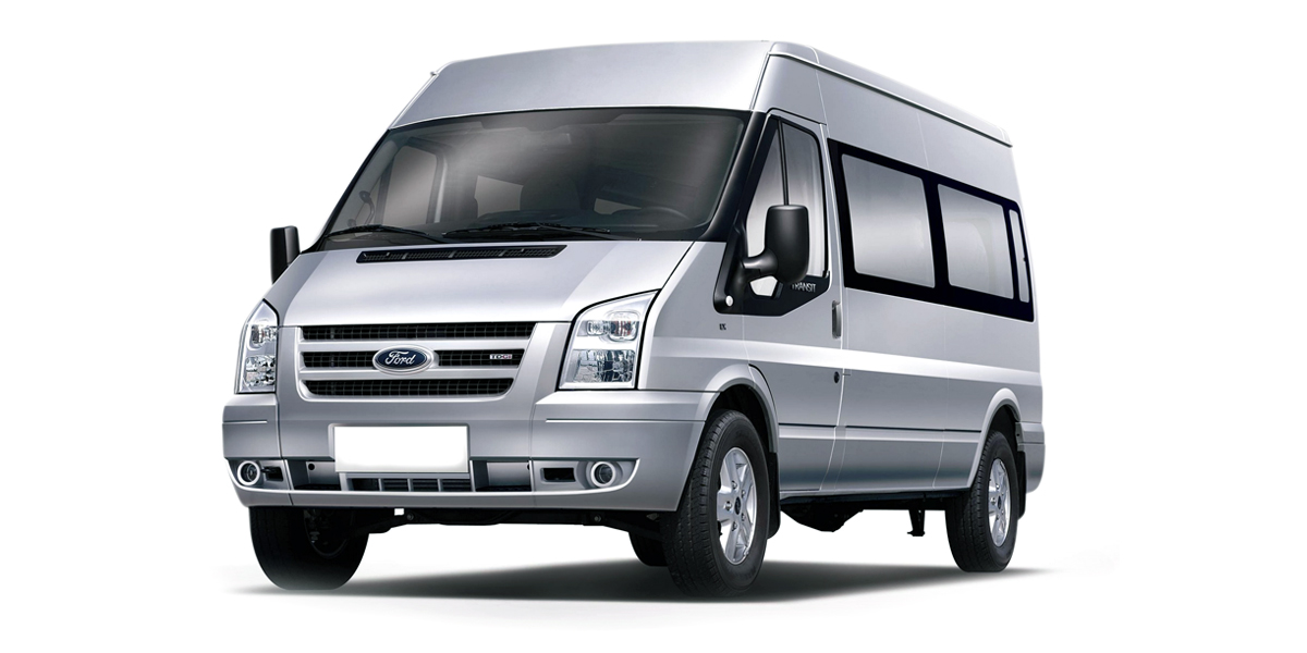 Vehicle Rentals - image of a minibus available to hire