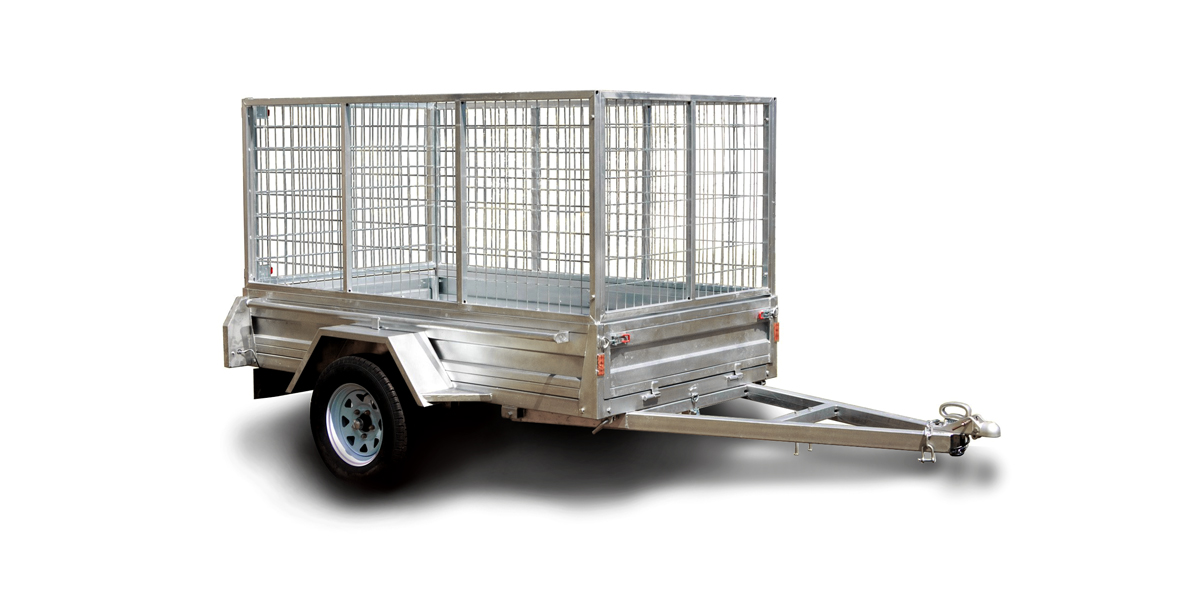 Vehicle Rentals - image of a trailer available for hire